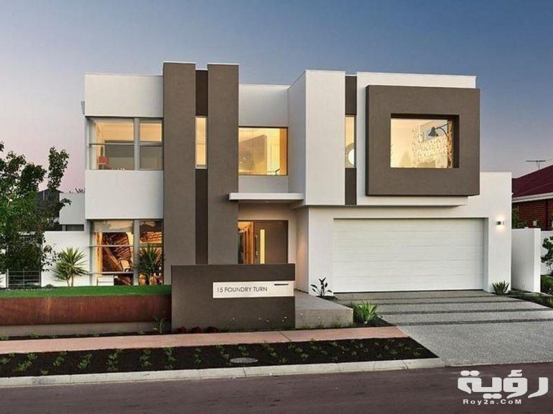 صور تشطيبات واجهات منازل 2021 كتالوج واجهة منزل