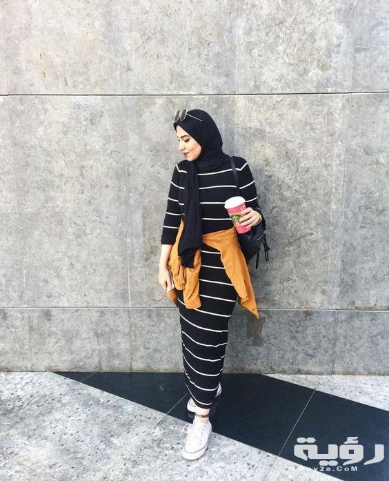 صور ملابس بنات محجبات شيك 2021 موديلات ازياء محجبات موقع رؤية