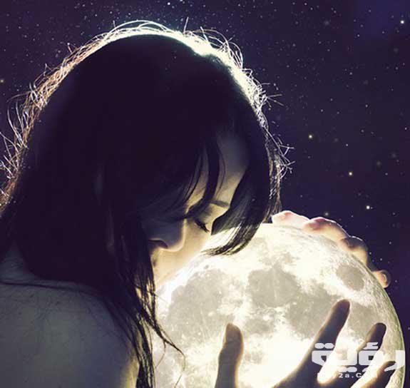 صور خلفيات قمر وبنت 2021