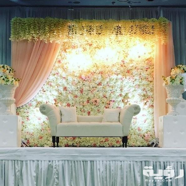 صور كوشات افراح 2021 كوشات اعراس منزلية بسيطة