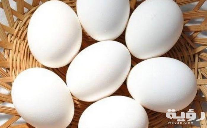 تفسير رؤية البيض