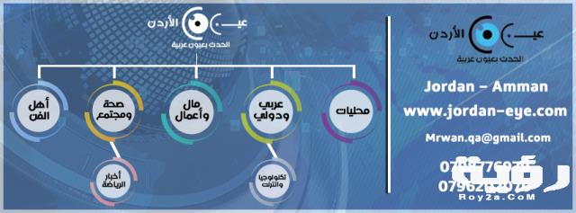 تردد قناة عين الأردن الإخبارية Jordan Eye الجديد 2021