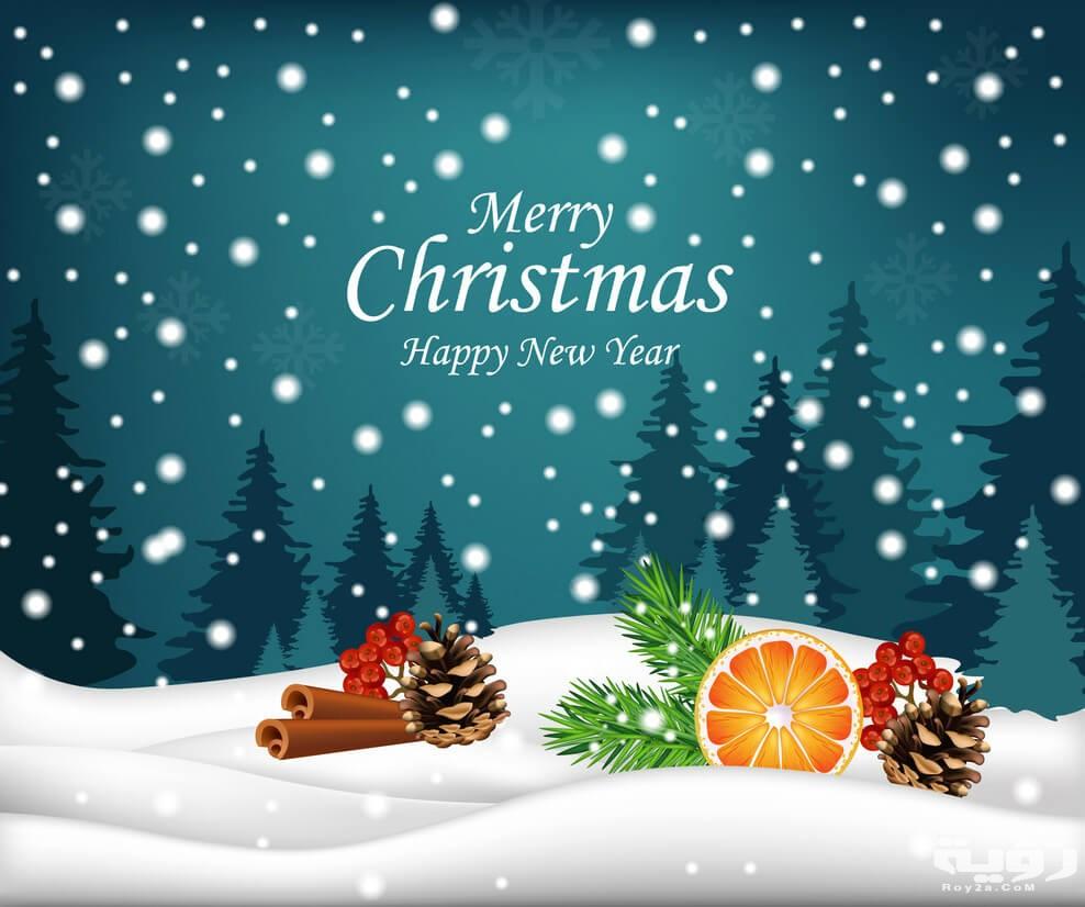 كلمات عيد الميلاد المجيد