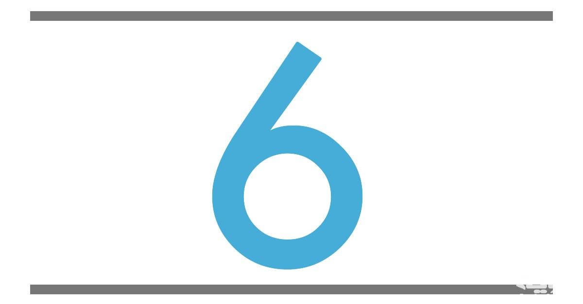 تفسير رؤية رقم 6 في المنام