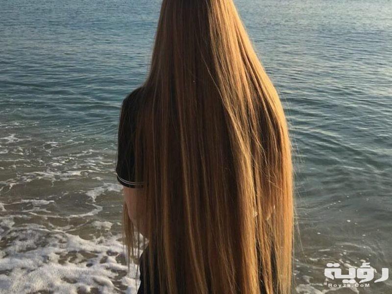 حلمت اني شعري طويل